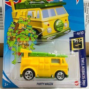 HOT WHEELS Teenage Mutant Ninja Turtles Party Van